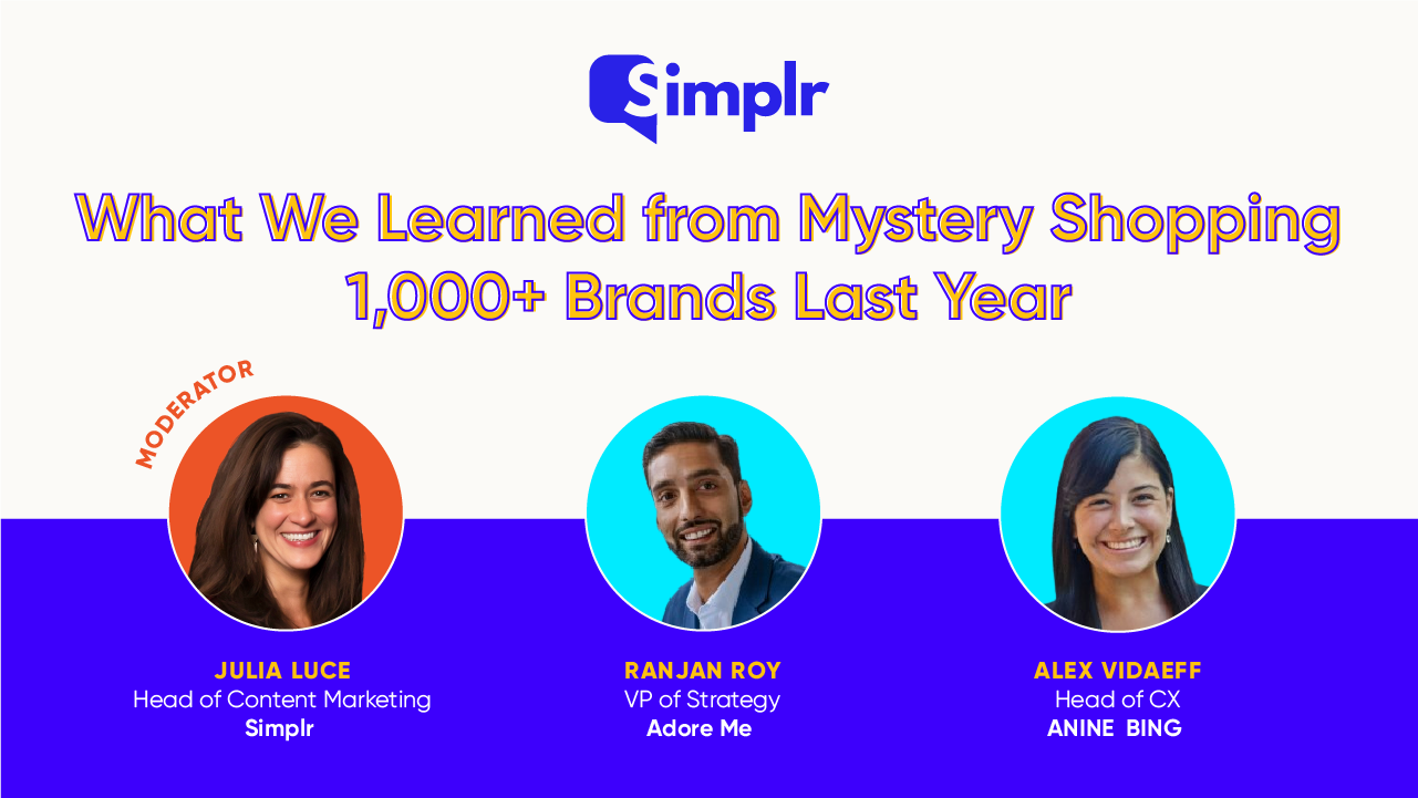 What We Learned from Mystery Shopping 1,000+ Brands Last Year