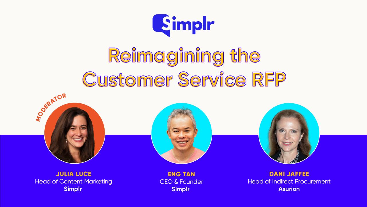 Reimagining the Customer Service RFP